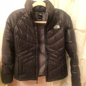 black north face winter coat